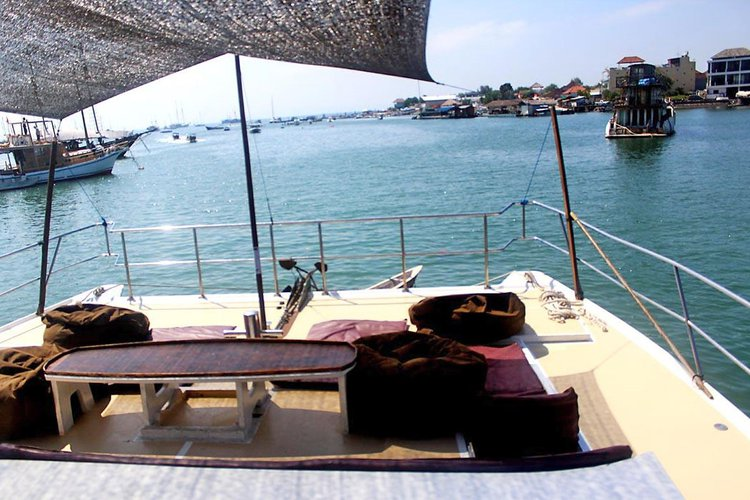 Catamaran boat rental in Denpasar, Indonesia