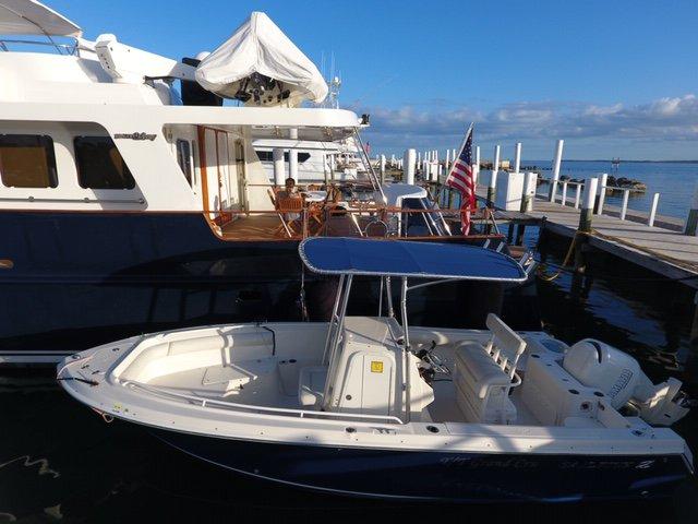 Motor yacht boat rental in Sag Harbor  (Marina across from Baron's Cove Motel), NY