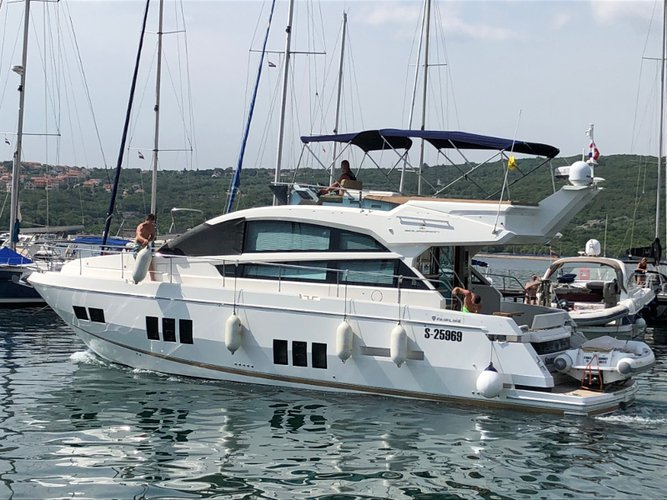 Explore Punat, Krk on this beautiful motor boat for rent