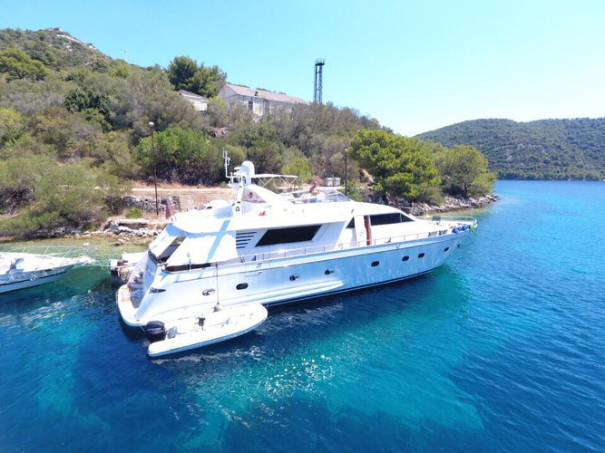 Experience Vieste on board this elegant motor boat