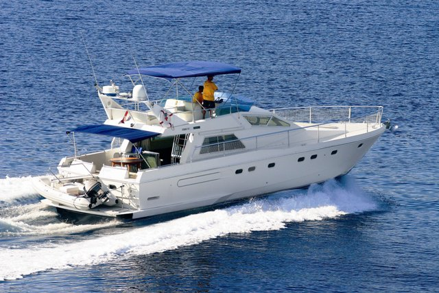 Experience Primošten, HR on board this amazing Ferreti Yachts Ferretti 52-7