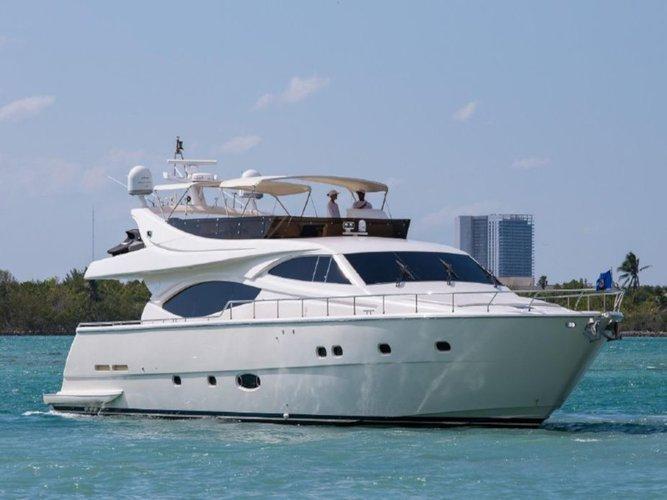 Charter this amazing Ferreti Yachts Ferretti 760 in Kaštel Gomilica, HR