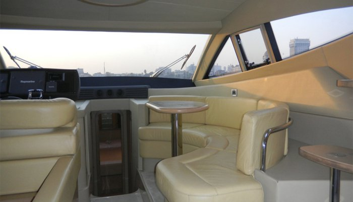 Boat for rent Ferretti 55.0 feet in Mumbai, India