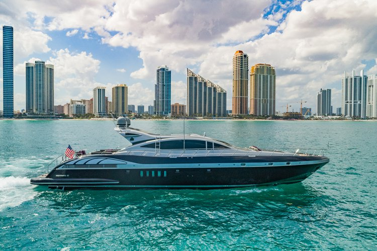 Charter luxurious Mangusta 92' for an amazing vacation!