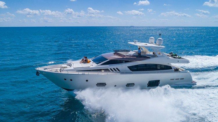 Ferretti's 80.0 feet in Miami Beach