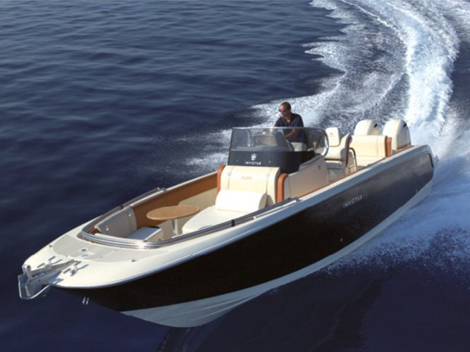 Explore Mahon - Menorca on this beautiful motor boat for rent