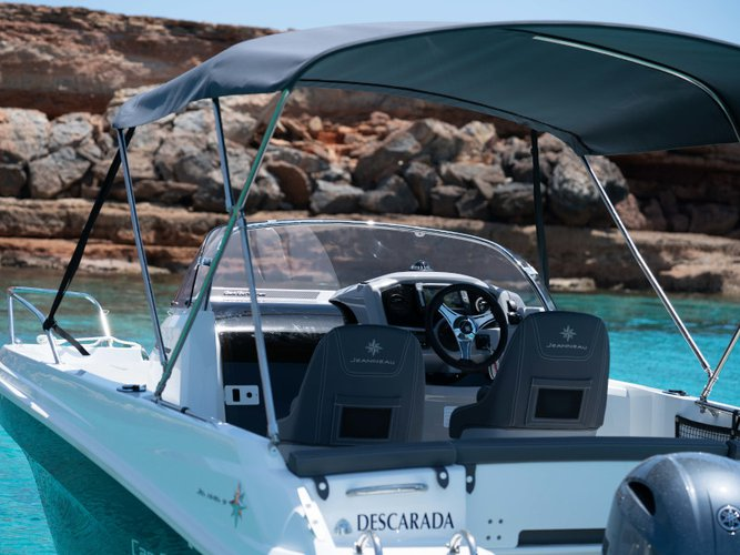 Charter this amazing motor boat in Ibiza