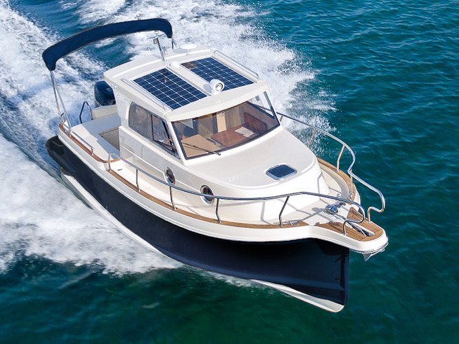 Climb aboard this Leidi Leidi 660 for an unforgettable experience