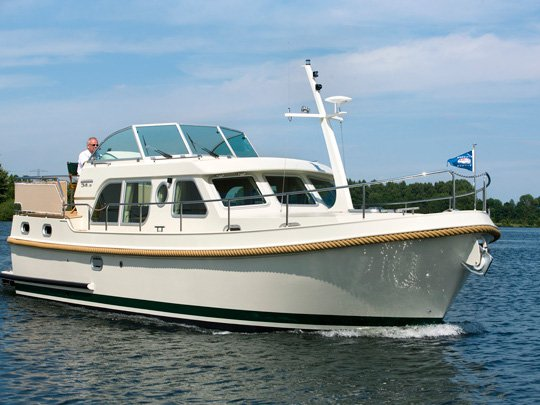 Discover Tonnerre in style boating on this motor boat rental