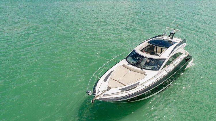 Express cruiser boat rental in Sea Isle Marina & Yachting Center, FL