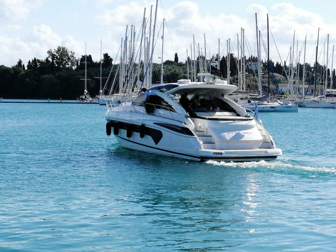 Hope aboard amazing Princess V53 to in enjoy Corfu!