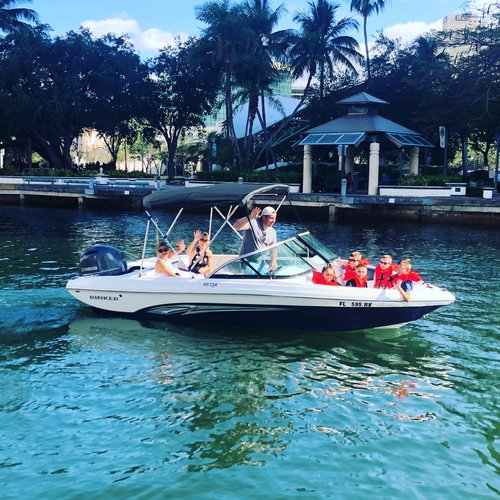 Bow rider boat for rent in Fort Lauderdale