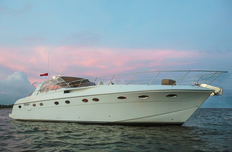 Enjoy luxury and comfort on this Denpasar motor boat rental