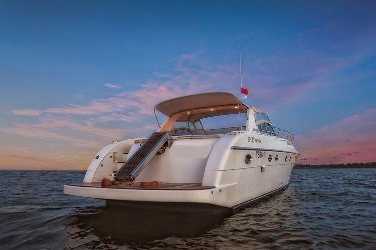 Motor yacht boat rental in Denpasar, Indonesia