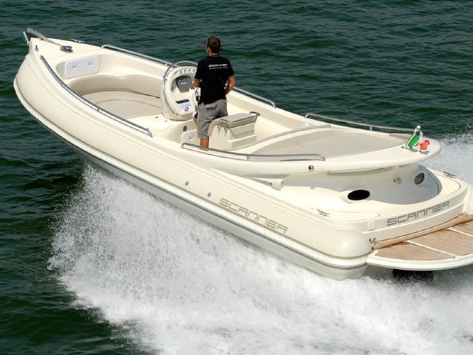 Enjoy luxury and comfort on this Tivat motor boat rental