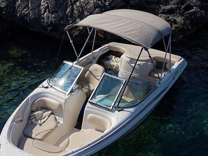 Hop aboard this amazing motor boat rental in Montenegro!