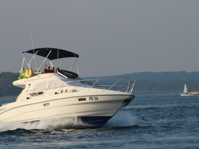 Rent this Sealine Sealine F33 Fly for a true nautical adventure