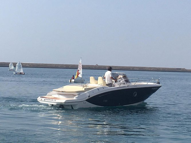 Discover Ibiza - Sant Antoni de Portmany in style boating on this motor boat rental