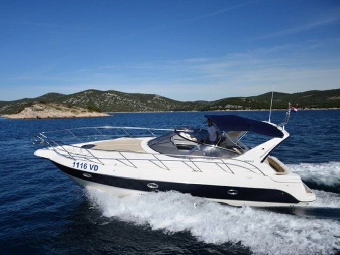 Get on the water and enjoy Tribunj in style on our Sessa Marine Sessa C35