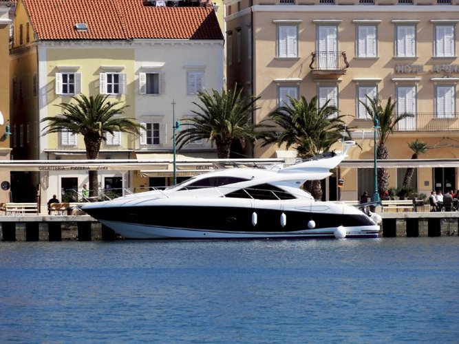 Explore Šibenik on this beautiful motor boat for rent