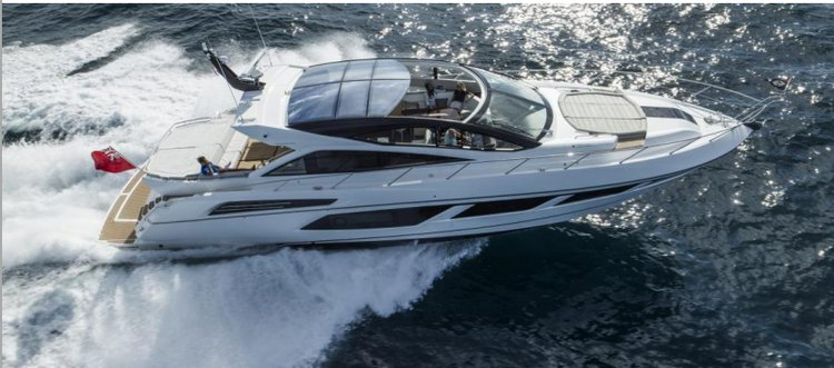 Luxurious holidays waiting for you aboard Sunseeker 68!