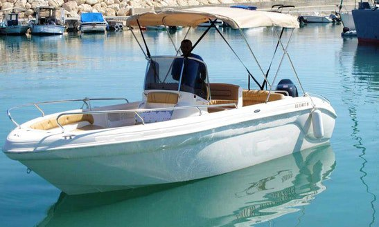 Explore Cyprus on our comfortable motor boat for rent