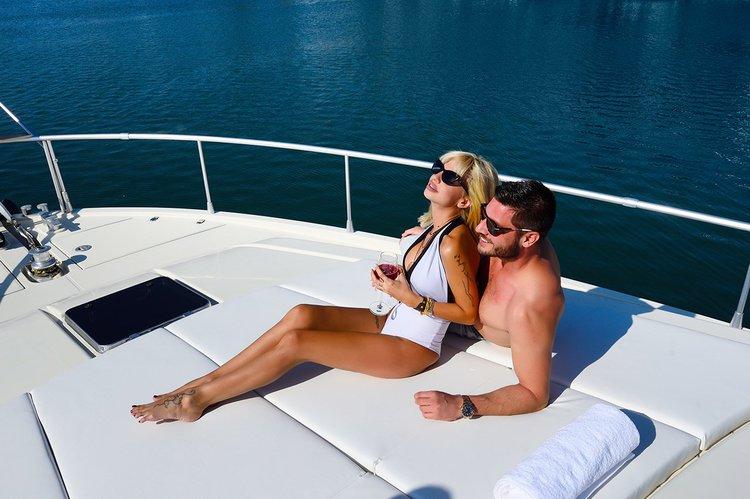 Boat for rent ferretti 50.0 feet in miraggio, Greece