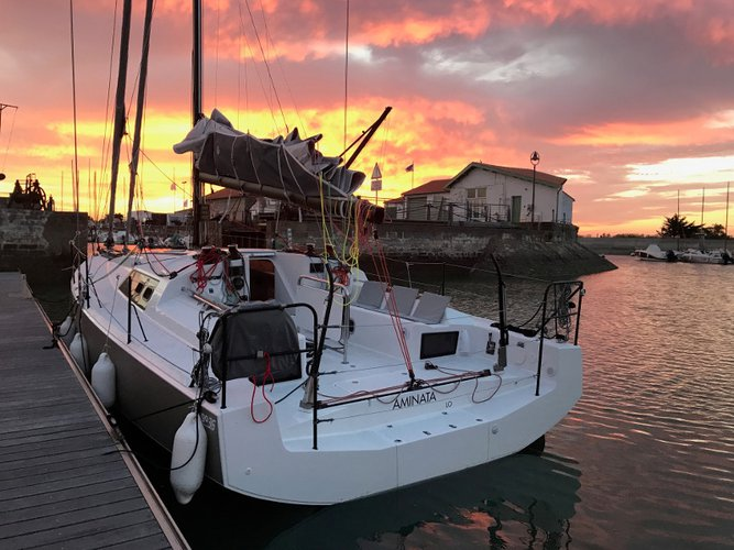 Sail Bormes-les-Mimosas, FR waters on a beautiful  Pogo 36