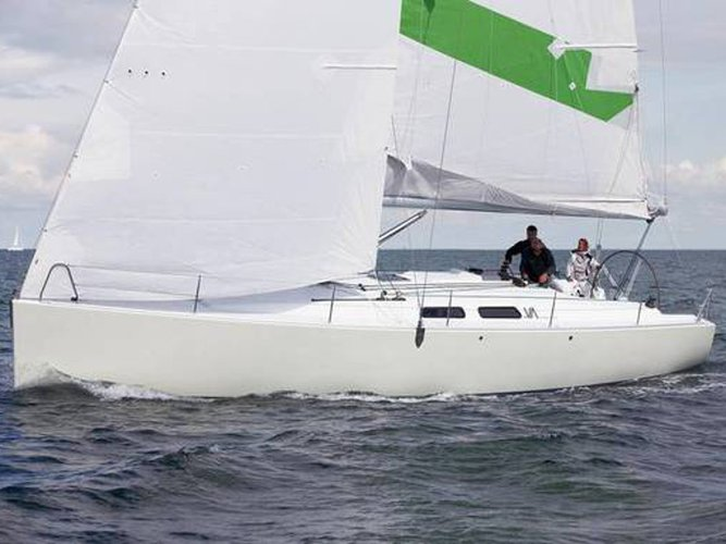 Experience Lemmer on board this elegant sailboat