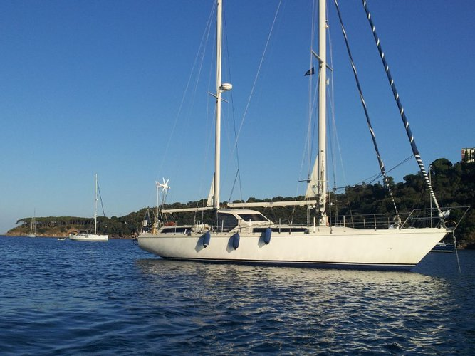 Get on the water and enjoy Piombino in style on our  Amel Maramu