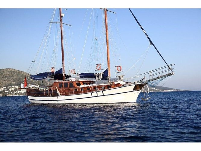 Rent this  Gulet 20m Urania for a true nautical adventure