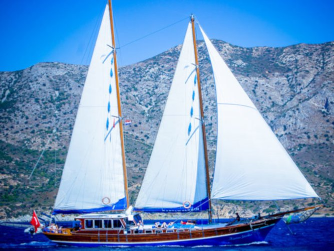 All you need to do is relax and have fun aboard the  Gulet Kaptan Yarkin