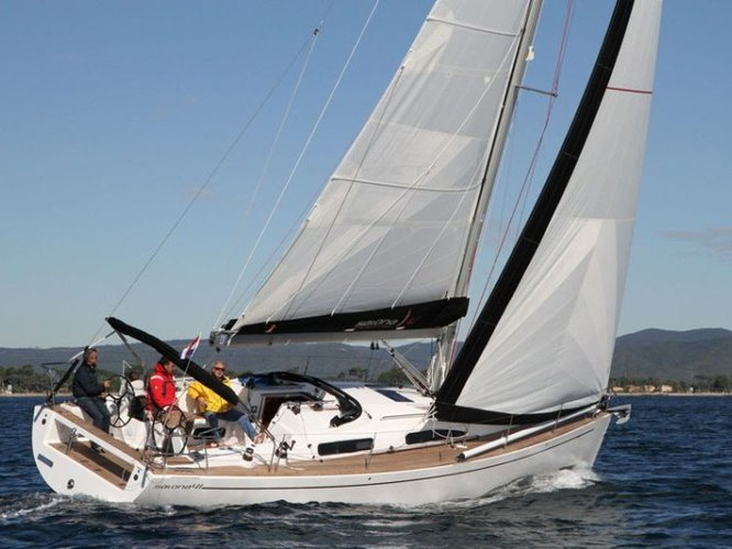 Rent this AD Boats Salona 41 Performance for a true nautical adventure