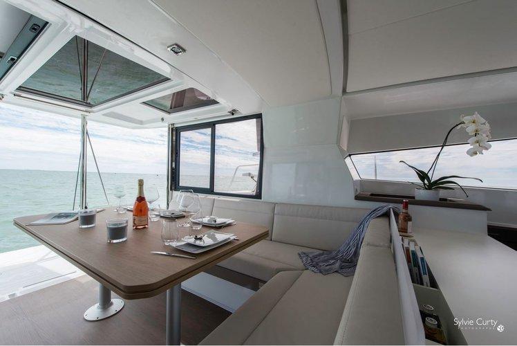 Catamaran boat rental in Palm Cay Marina,