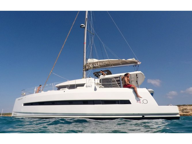 Climb aboard this Bali Catamarans Bali 4.0 for an unforgettable experience