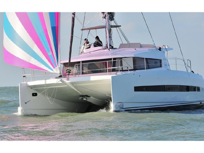 Beautiful Bali Catamarans Bali 4.1 ideal for sailing and fun in the sun!