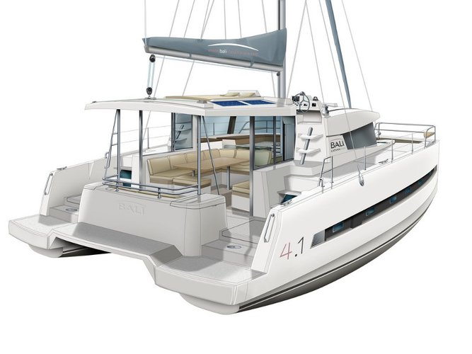 Get on the water and enjoy Šibenik in style on our Bali Catamarans Bali 4.1