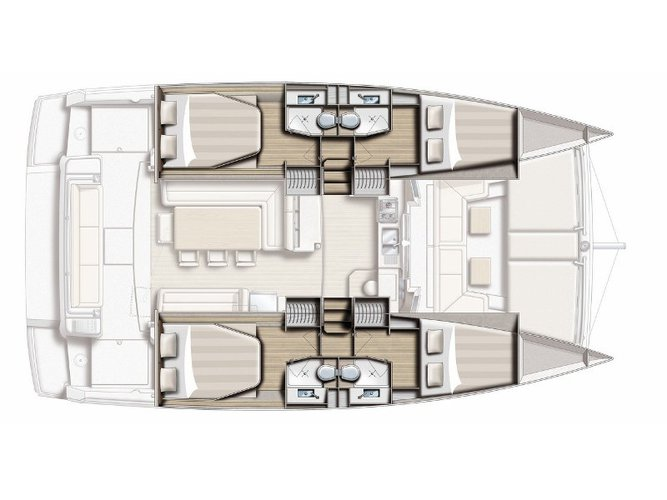 Get on the water and enjoy Volos in style on our Bali Catamarans Bali 4.1