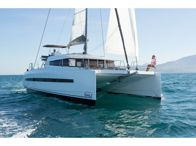 Unique experience on this beautiful Bali Catamarans Bali 4.5 Capo d'Orlando Liberty