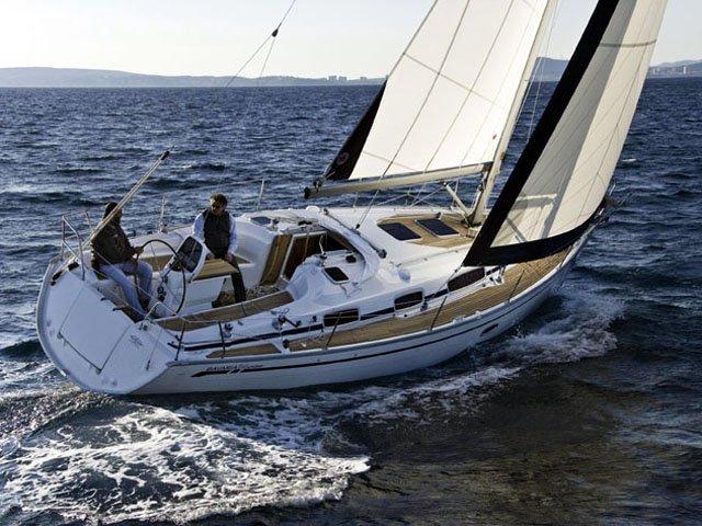 Sail Kröslin, DE waters on a beautiful Bavaria Yachtbau Bavaria 34 Cruiser