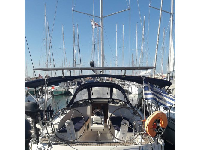 Discover Lefkada in style boating on this sailboat rental