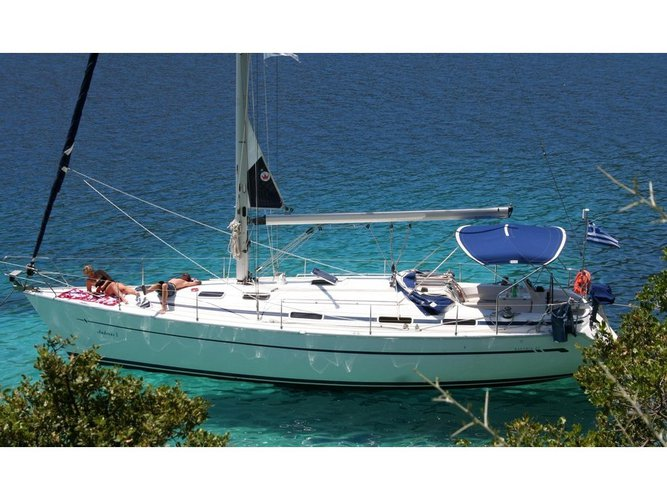 Take this Bavaria Yachtbau Bavaria 41 for a spin!