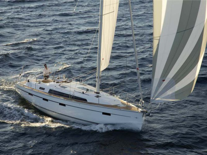 Rent this Bavaria Yachtbau Bavaria Cruiser 41 for a true nautical adventure