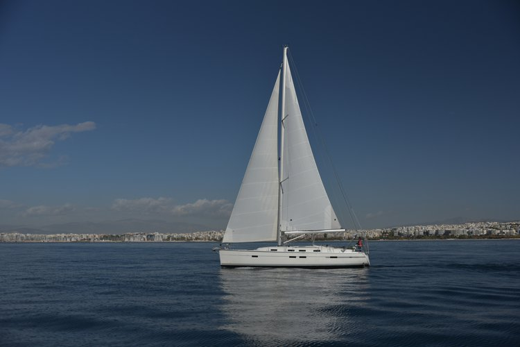 Sail the beautiful waters of Athens on this cozy Bavaria Yachtbau Bavaria Cruiser 45