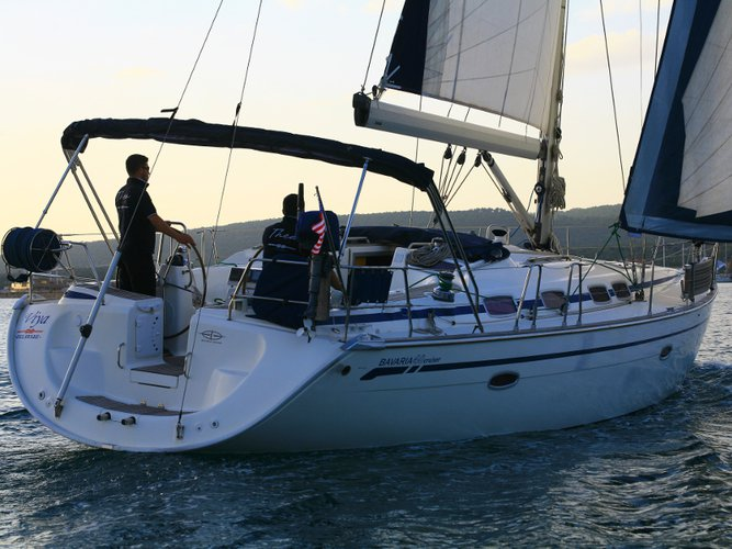 Hop aboard this amazing sailboat rental in Ayvalik-Cunda!