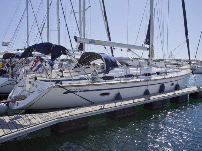 Enjoy Bar, ME to the fullest on our comfortable Bavaria Yachtbau Bavaria Cruiser 50