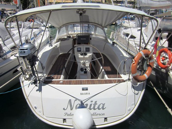 Relax on board our sailboat charter in Palma de Mallorca