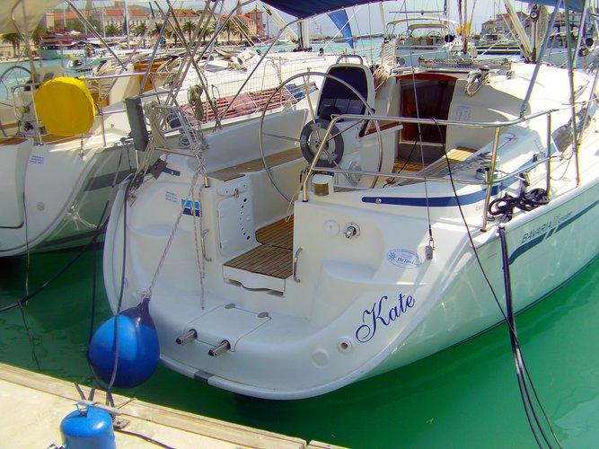 Rent this Bavaria Yachtbau Bavaria 33 Cruiser for a true nautical adventure