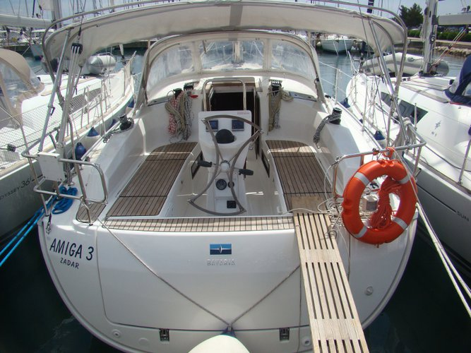 Enjoy luxury and comfort on this Sukošan sailboat charter