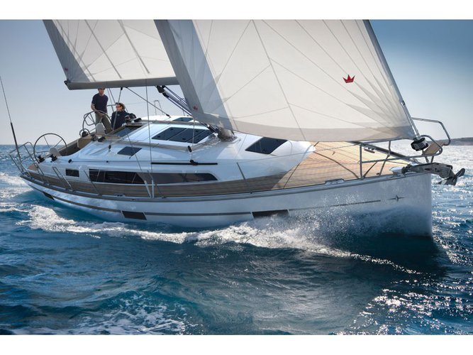 Get on the water and enjoy Sukošan in style on our Bavaria Yachtbau Bavaria 37 '15